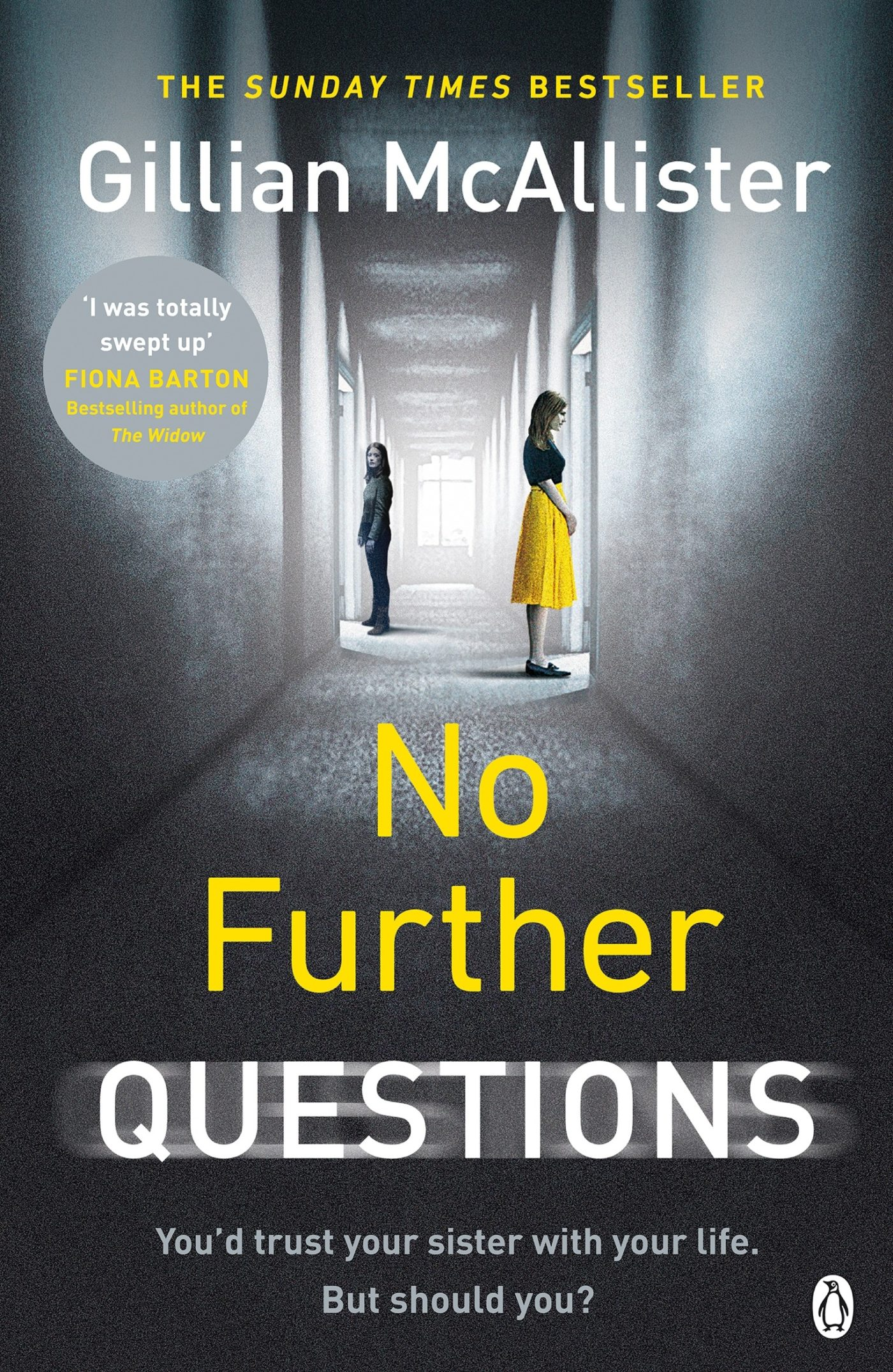 Buy No Further Questions by Gillian McAllister
