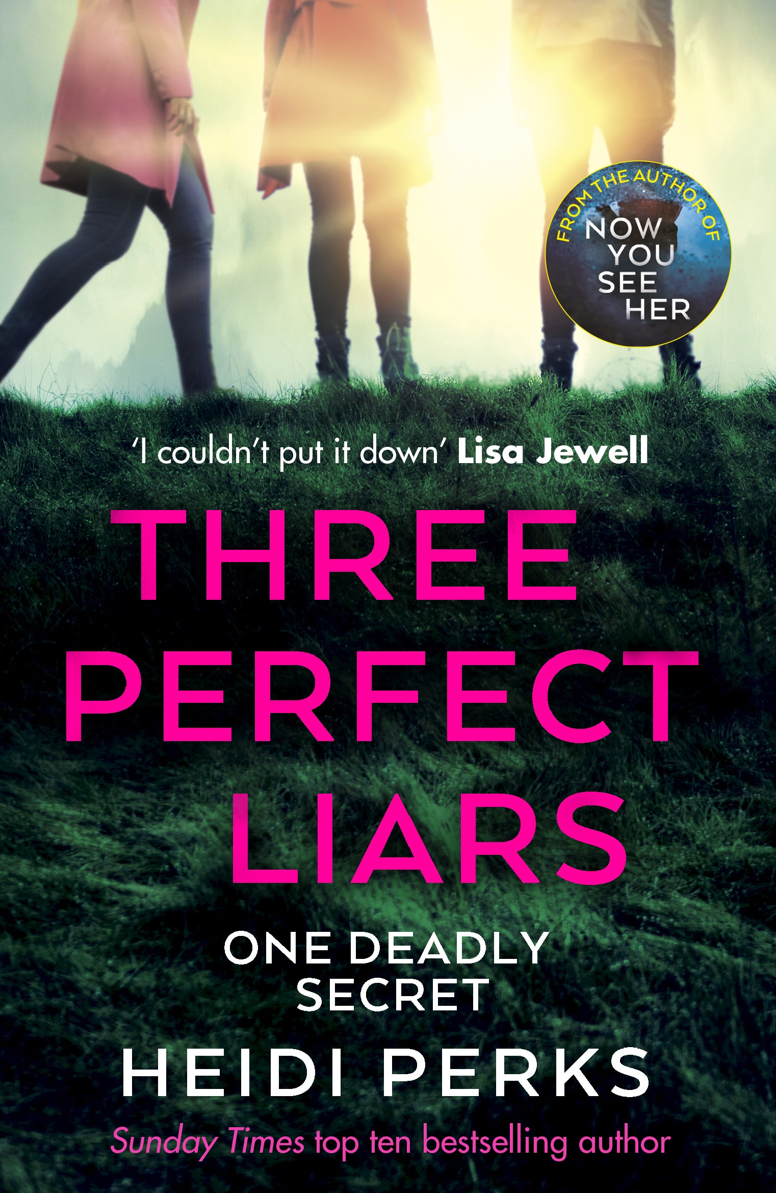 Three Perfect Liars by Heidi Perks, one of the best books out this month