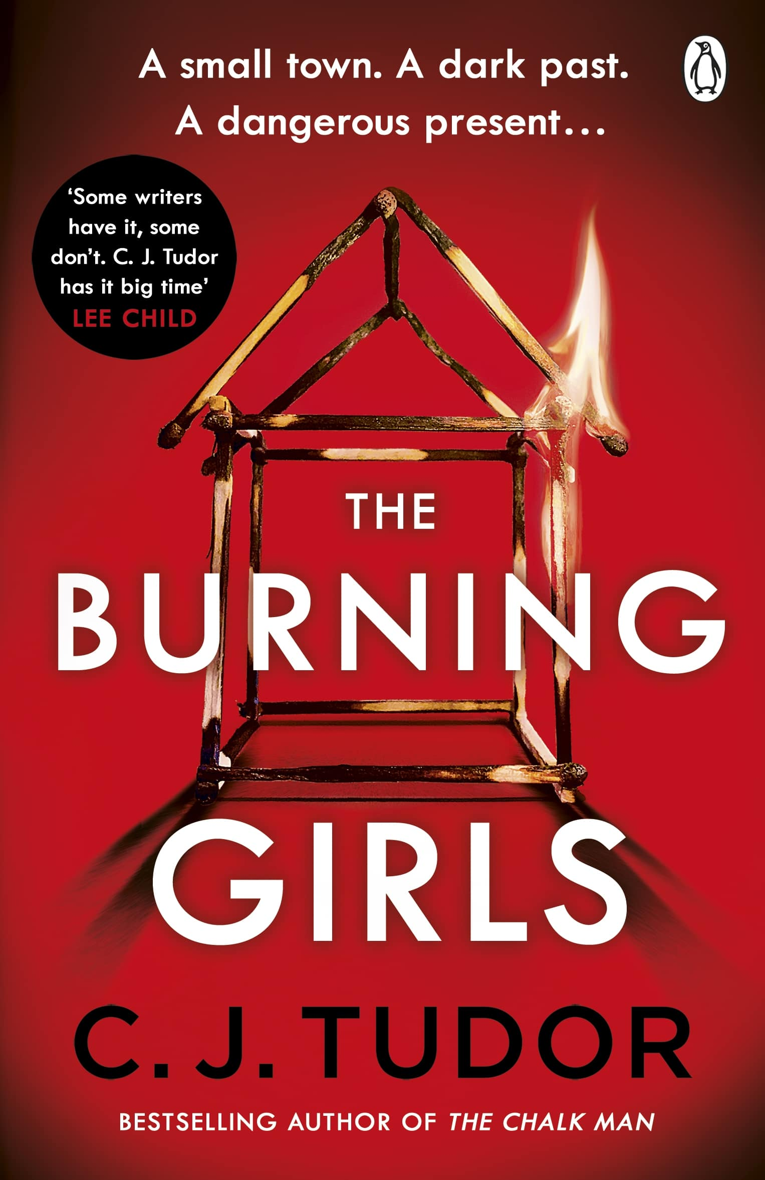 Book cover of The Burning Girls by C J Tudor