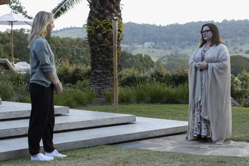 Asher Keddie and Melissa McCarthy star in Nine Perfect Strangers